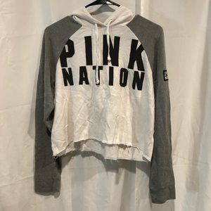 VS PINK cropped sweater